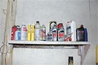 Contents of Shelves & Floor - Assorted Items