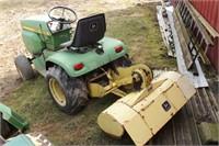 John Deere 214 Riding Mower
