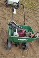 Vigoro 4300 Push Broadcast Spreader