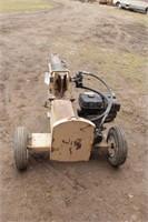 9hp Trailer Type Tilt Deck Hydraulic Log Splitter