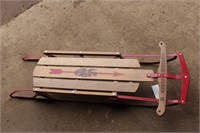 Flexible Flyer III Metal Runner Toboggan