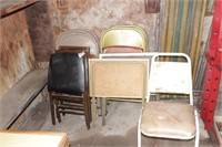 15pc Chairs, Folding Chairs, TV Trays & Loungers