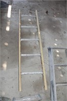 4pc Wood & Fiberglass Step Ladders