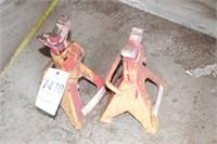 pair of 3 ton jackstands