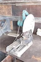 "makita 14"" abrasive wheel chop saw"