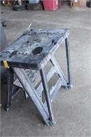 Poly sawhorse & tool stand