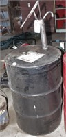 Barrel with pump - Nearly Empty