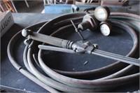 Smith cutting torch, lines & 1 regulator