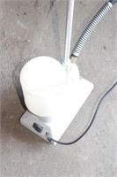 Steam cleaner with stand