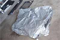 Large Silver Tarp - Looks like 40'x40'