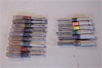 15pc Craftsman Metric & SAE Nut Drivers (2 sets)