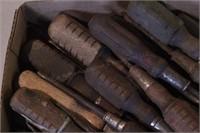 26pc Wood Handle & Cast Screwdrivers