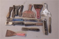 13pc Putty Knives & Scrapers