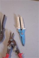 6pc Tin Snips - Wiss, Allied, Others