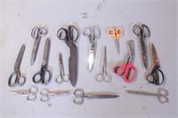 14pc Scissors & Shears