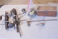 Wood Brace, Auger Bits & Paddle Bits