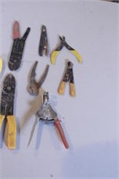 18+pc Wire Stripping & Cutting Tools