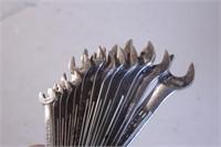 12pc Craftsman 6pt Metric Combo Wrench Set