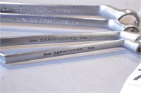 4pc Craftsman 12pt Metric & SAE Box End Wrenches