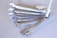 "8pc ""Drop Forged"" 12pt SAE Combo Wrench Set"