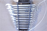 14pc Pittsburgh 12pt Metric Combo Wrench Set
