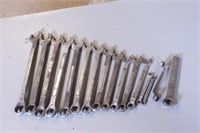 16pc Barcalo 12pt SAE Combo Wrenches