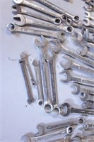 60pc Mixed Combo Wrenches - Mostly SAE