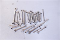 24pc Mixed Metric Combo Wrenches