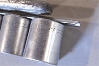"""11pc Craftsman 1/2"""" dr 12pt SAE Sockets & Ratchet"""