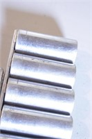 12pc Craftsman 1/2dr 12pt SAE Deep Sockets/Ratchet