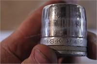 """20pc SK 1/2"""" dr 12pt SAE Socket & Ratchet Set"""