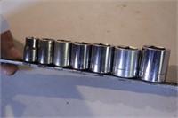 """7pc Craftsman 3/8"""" dr SAE 12pt Sockets"""