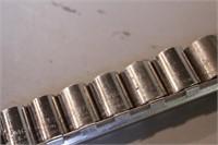 "11pc Craftsman 3/8"" dr Metric 6pt Sockets"