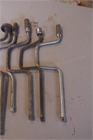 """6pc 1/2"""" & 3/8"""" Drive Speed Wrenches"""