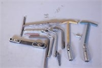 9pc T-Handle Sockets & Distributor Wrenches