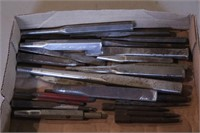 26pc Craftsman Cold Chisels, Punches & Nail Sets