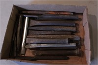 25pc Cold Chisels & Small Punches