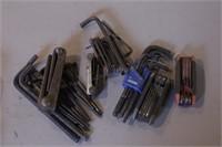 6pc Folding Allen Key Sets & Ball Tip Allen Keys