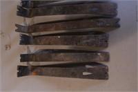 9pc Carpenter's Flat Bars