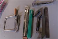 5pc Planer Blades, Rasps, Coping Saw