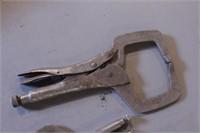 4pc Vise Grip Locking Pliers