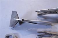 5pc Locking Jaw Pliers - Various Styles