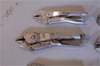 9pc Locking Pliers - Various Brands & Styles