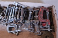 """28pc 1"""", 2"""", & 3"""" C-Clamps - Various Styles"""