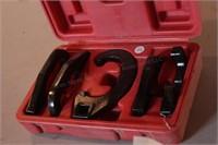 5pc 2 Way Crowfoot C-Hook Spanner Set