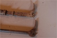 2pc Antique Nail Pullers