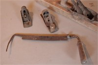 4pc Vintage Wood Working Tools