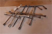7pc 4-Way & Tire Iron Lug Wrenches