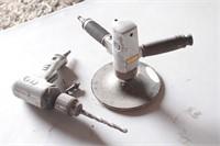 ARO pneumatic drill & CP air sander
