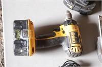 DeWalt 18V cordless drill &saw